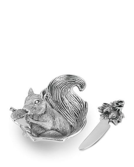 Star Home Designs Squirrel Dip Dish Set