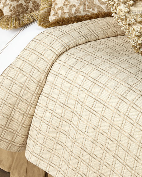 Sweet Dreams Queen Vermont Plaid Coverlet