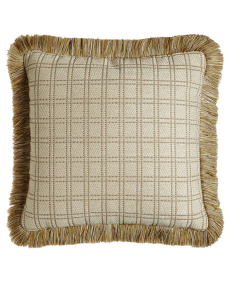"Vermont Reversible Pillow, 20""Sq."