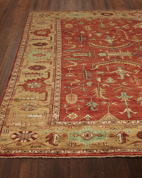 Exquisite Rugs Kareena Serapi Rug, 10' x 14'