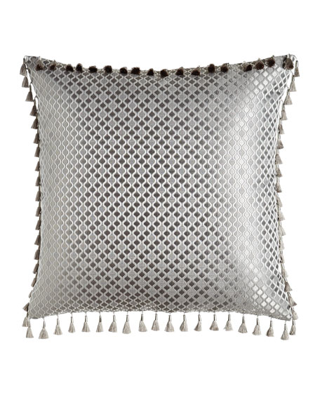 Sweet Dreams European Platinum Posey Geometric Sham