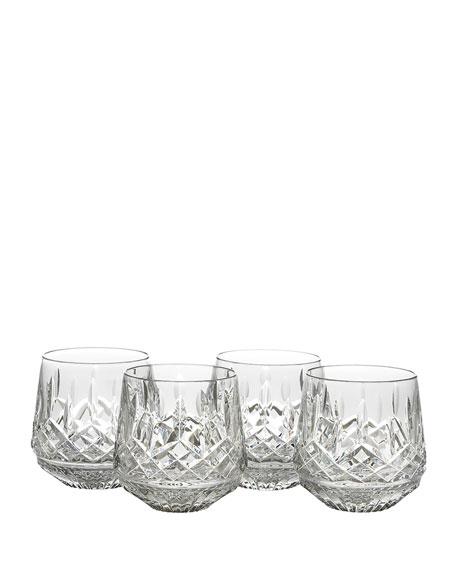 Lismore Double Old-Fashioneds, Set of 4