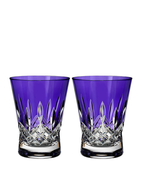 Lismore Pops Purple Double Old-Fashioneds, Set of 2