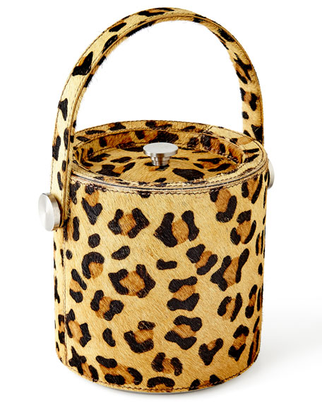 Pigeon And Poodle Leopard Ice Bucket Amp Tongs Neiman Marcus