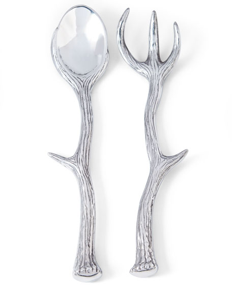 Arthur Court Designs Antler Serving Set