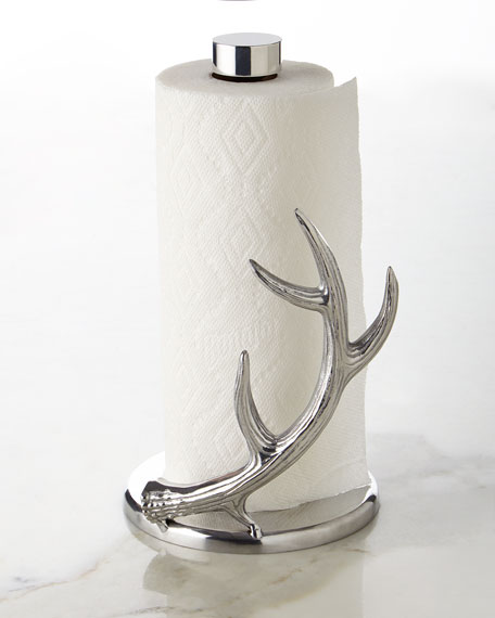 Arthur Court Designs Antler Paper Towel Holder