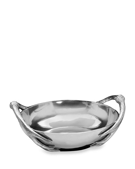 Arthur Court Designs Antler Large Bowl