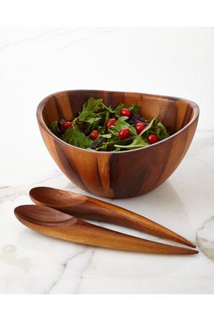 Nambe Harmony 3-Piece Salad Set
