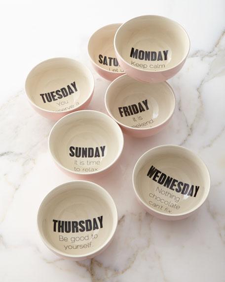 Weekday Bowls, 7-Piece Set