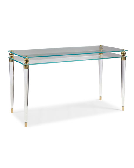 Abby Glass Writing Desk