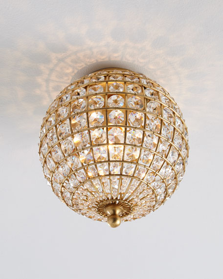 Renwick small flush mount ceiling fixture