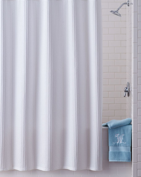 honeycomb shower curtain - Kassatex