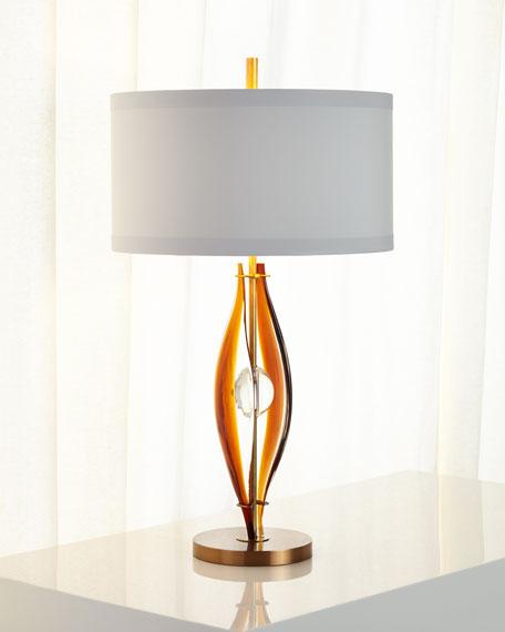 Glass Table Lamp John Deere : John richard collection art glass table lamp