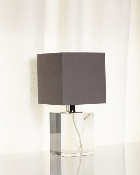 Regina Andrew Design Mini Crystal Block Lamp