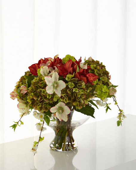 Bountiful Bouquet Faux-Floral Arrangement