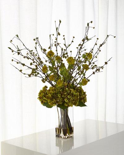 Autumn Breeze Faux-Floral Arrangement