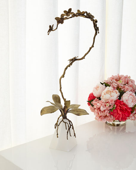 John-Richard Collection Phalaenopsis Sculpture