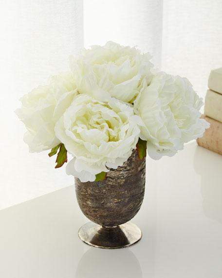 John-Richard Collection Lace Roses Faux-Floral Arrangement