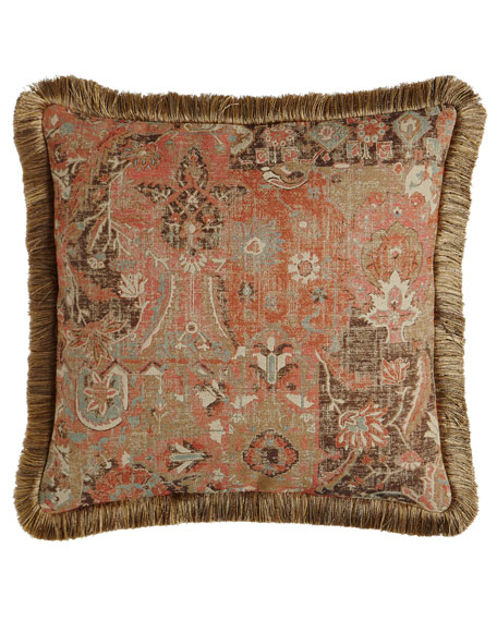 "Anatolian Empire Pillow, 22""Sq."
