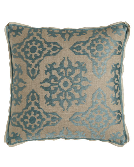 "Anatolian Empire Bergamo Pillow, 20""Sq."