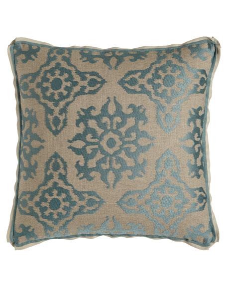 """Anatolian Empire Bergamo Pillow, 20""""Sq."""