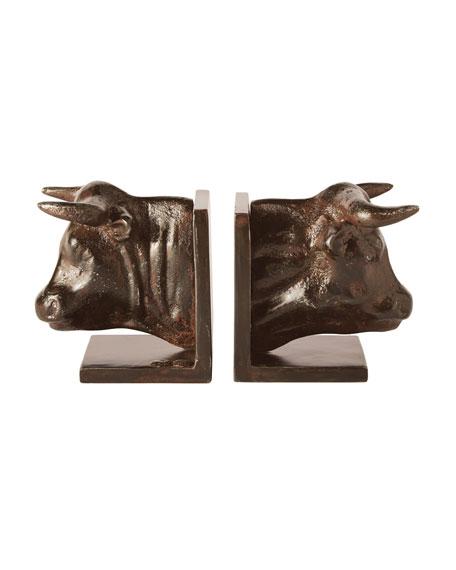 Torrez Bull Bookends