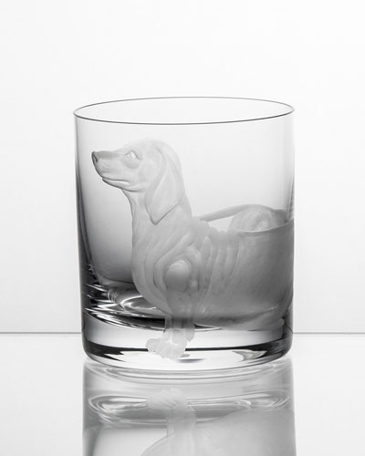 Dachshund Double Old-Fashioned