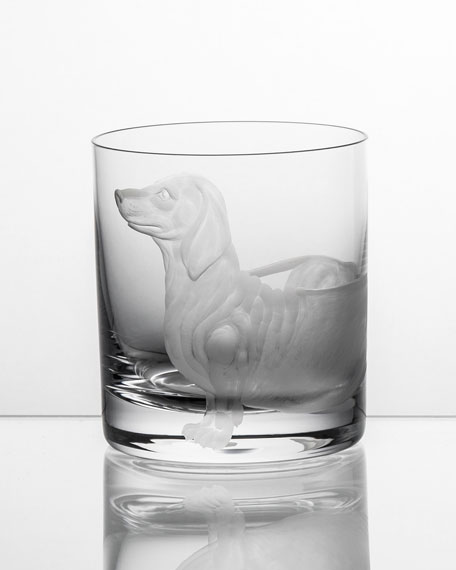 Artel Dachshund Double Old-Fashioned