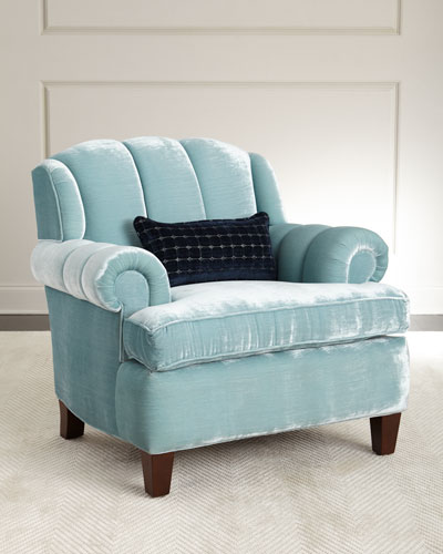Smith Channel-Tufted Chair