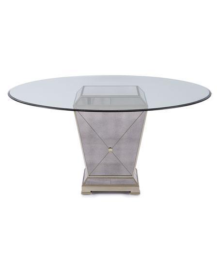 Milo Mirrored Dining Table