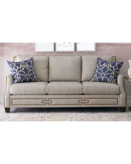 Surrey Channel-Tufted Sofa