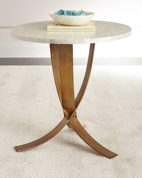 Meir Capiz Shell Side Table