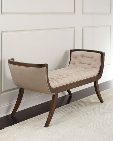 Maeve Tufted Bench