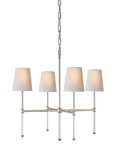 Camille Small 4-Light Chandelier