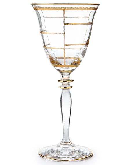 Vietri Elegant Wine Glasses