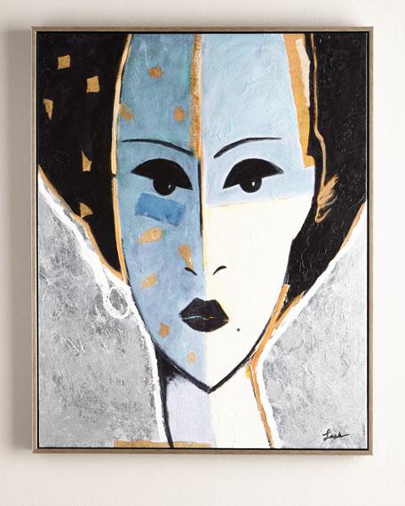 """Madame X Blue"" Giclee"