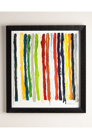 "RFA Fine Art ""All of My Colors Stripes"" Giclee on Paper Wall Art"