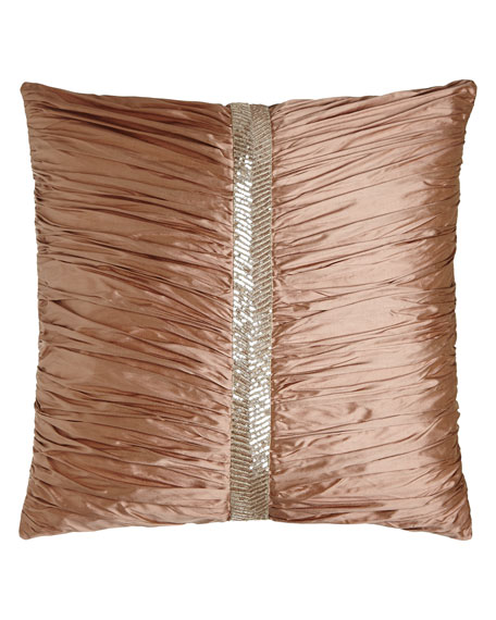 Dian Austin Couture Home European Adagio Ruched Silk