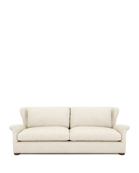 Queen Buckwheat Linen Sofa