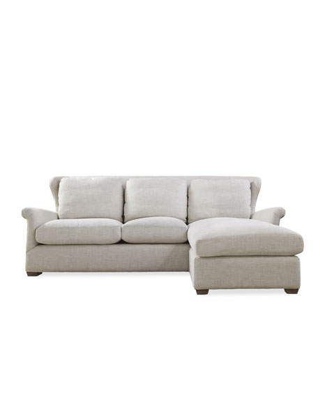 Queen Buckwheat Linen Sectional