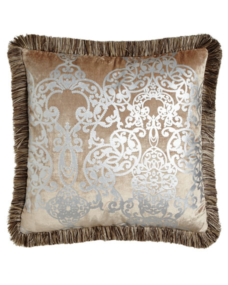 Dian Austin Couture Home European Gretta Scroll Sham