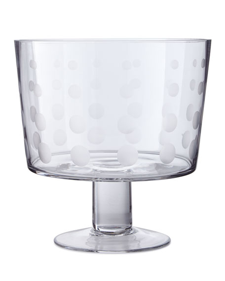 "Cheers 8"" Footed Dessert Bowl"
