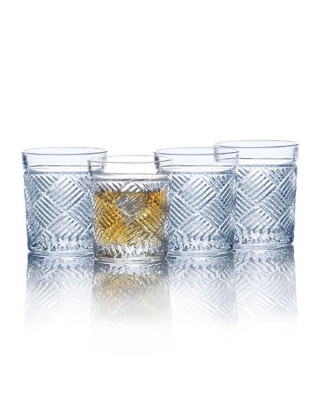 Ballard Double Old-Fashioneds, Set of 4