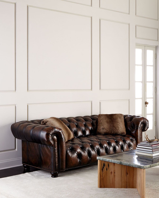 Bernhardt Curtis Tufted Chesterfield Sofa | Neiman Marcus
