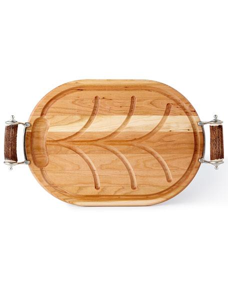 Antler Handle Carving Board