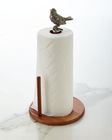 Song Bird Paper Towel Holder
