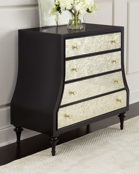 Cynthia Rowley for Hooker Furniture Epoque Eglomise Chest