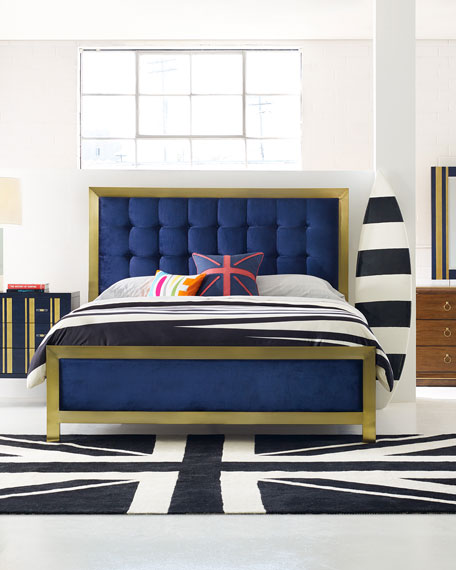 Cynthia Rowley for Hooker Furniture Balthazar Tufted Bed