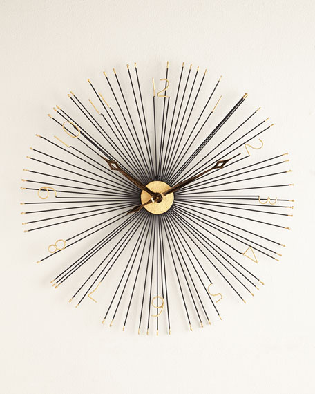 Shockfront Wall Clock