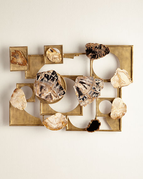 Hale Petrified Wood Wall Decor